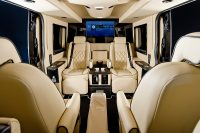 Jet Class Chauffeur Interior with screen