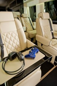 chauffeur with video games