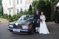 rolls royce wedding chauffeur