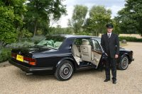 luxury wedding chauffeur
